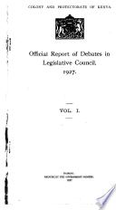 1927 - Vol. 1